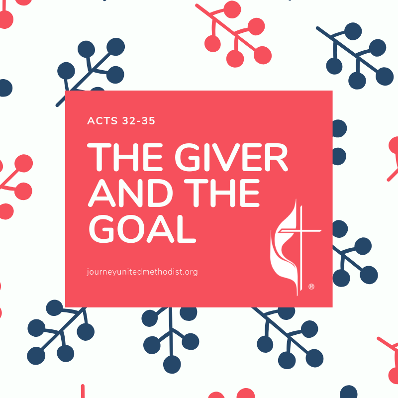 The giver and the Goal