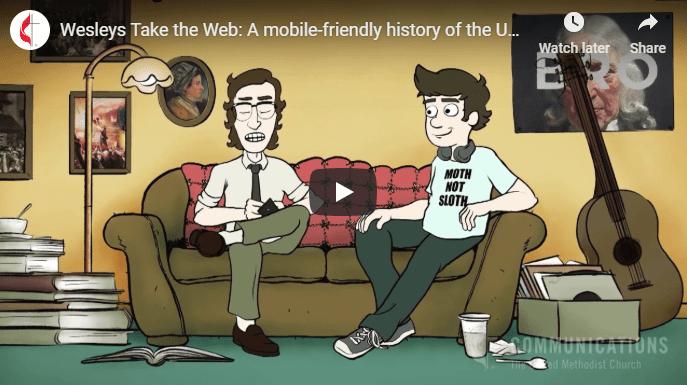 Wesleys take the web
