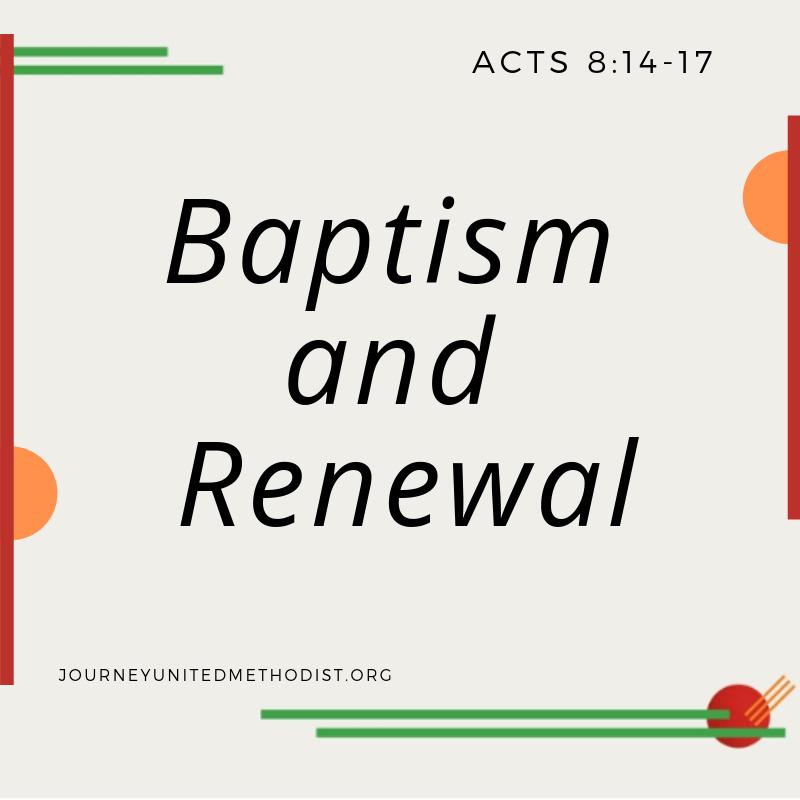 Baptism and Renewal