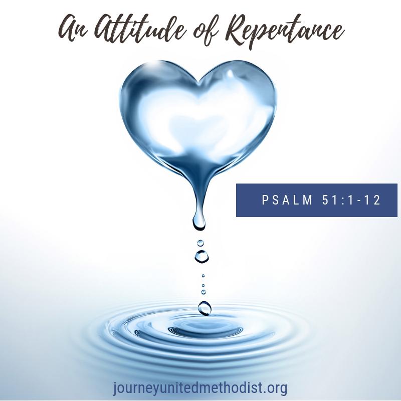 An Attitude of Repentance