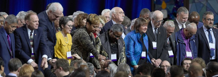 Bishops-praying